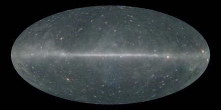 Fermi RGB all sky image
