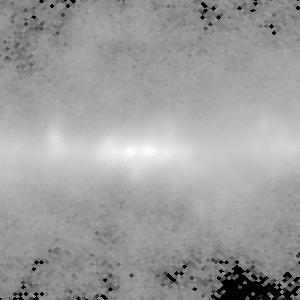 WMAP galactic center