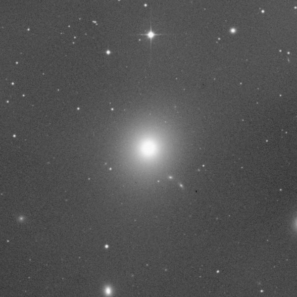 Researchers found a group of dwarf galaxies which move in an orderly manner contradicting the current standard dark matter cosmology
